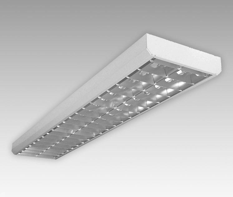 studio218 6500 daylight tl armatuur 2x18 watt opbouw