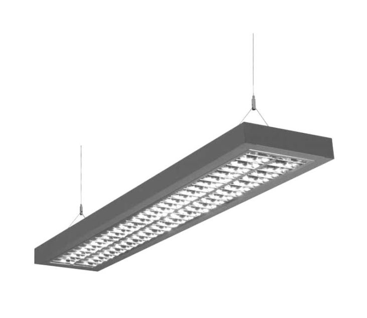 TOP54-TrueLight5500 Daylight TL-armatuur 2x54Watt (pendel)